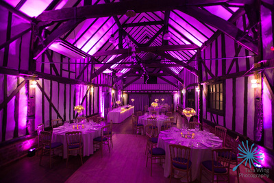 Wedding photography at the Essex Barn at The Chichester Hotel