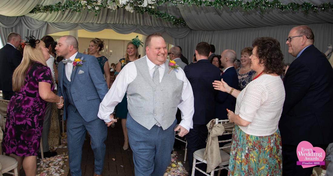 Same sex wedding photographer at Friern Manor